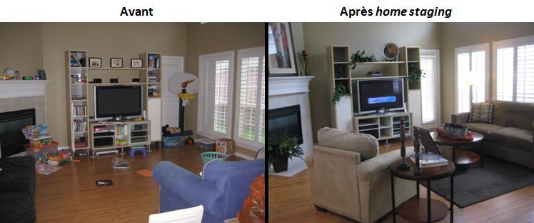 Le home staging design et pas cher agence briques en stock - Home staging avant apres ...