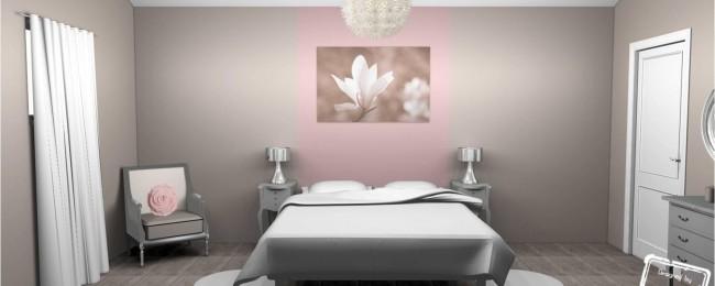 conseils d co pour agrandir visuellement une chambre agence briques en stock. Black Bedroom Furniture Sets. Home Design Ideas