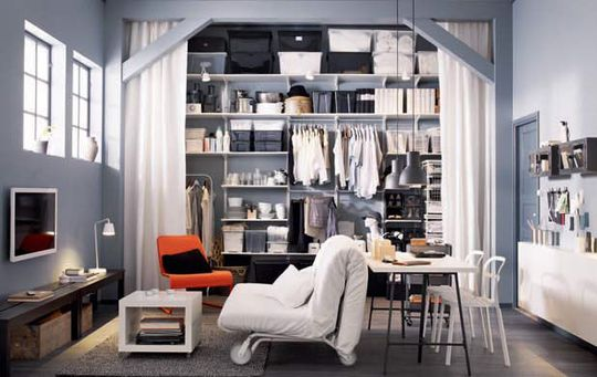 dresser un dressing agence briques en stock. Black Bedroom Furniture Sets. Home Design Ideas