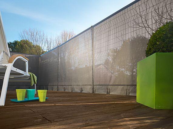 Comment cl turer son jardin agence briques en stock - Brise vue entre voisin ...
