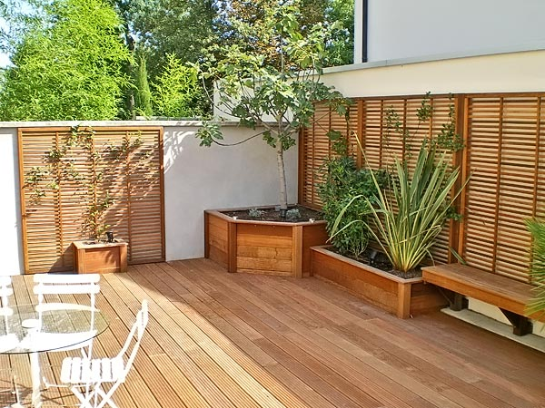 Id es pour am nager sa terrasse agence briques en stock for Amenager une terrasse