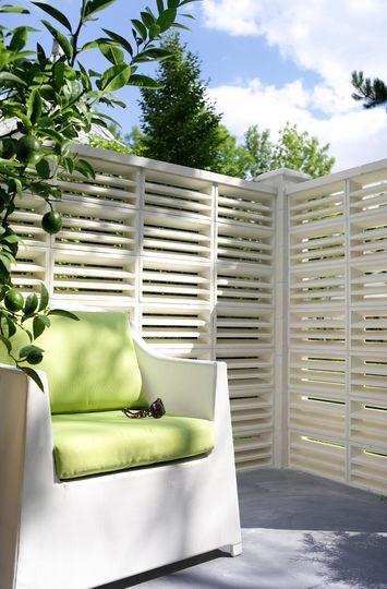 Comment cl turer son jardin agence briques en stock - Proteger sa terrasse des regards ...